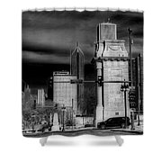 Congress Parkway Shower Curtain