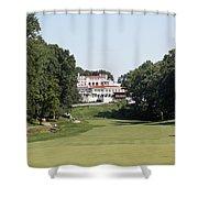 Congressional Blue Course - Par 5 11th Shower Curtain