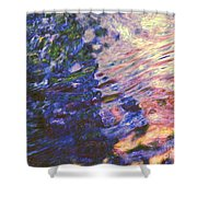 Congruent Forces Shower Curtain