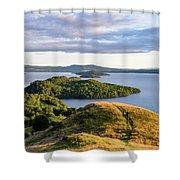 Conic Hill Balmaha Uk Shower Curtain