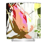 Connected Ladies Camo Shower Curtain