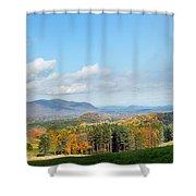 Connecticut Scenic Vista Shower Curtain