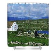 Connemara, Co Galway, Ireland Cottages Shower Curtain