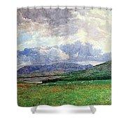Connemara Mountains Shower Curtain
