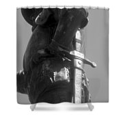 Conquistador 1500s Work B Shower Curtain