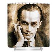 Conrad Veidt, Vintage Actor Shower Curtain