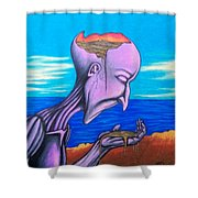 Conscious Thought Shower Curtain