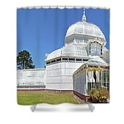 Conservatory Of Flowers Shower Curtain