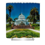 Conservatory Of Flowers - San Francisco Shower Curtain