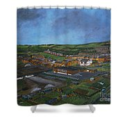 Consett, Blackhill, County Durham Shower Curtain