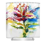 Consider The Lily Shower Curtain