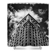 Consolidated Edison Building Shower Curtain