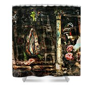 Conspiracy Of Silence Shower Curtain