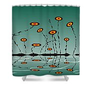 Constant Vigilance Shower Curtain
