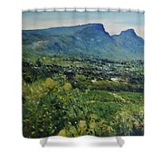 Constantia Valley Cape Town South Africa 2017 Shower Curtain