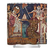 Constantine I (c280-337) Shower Curtain