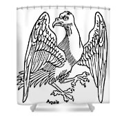 Constellation: Aquila Shower Curtain