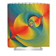 Constellation Of Planets Shower Curtain