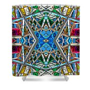 Constructurropolis Shower Curtain
