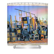 Consumed Shower Curtain