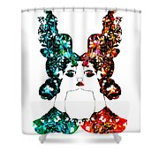 Contact With Nature Shower Curtain