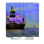 Container Sail Shower Curtain