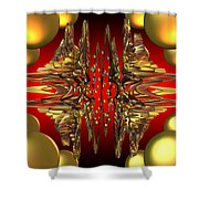 Containment Field-excaliber Shower Curtain