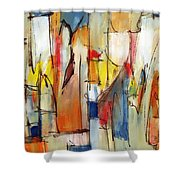 Contemporary Art Eight Shower Curtain