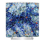 Contemporary Art Forty-nine Shower Curtain