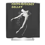 Contemporary Ballet  Shower Curtain