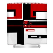 Contemporary Design IIi Shower Curtain