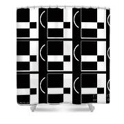 Contemporary Design Vii Shower Curtain