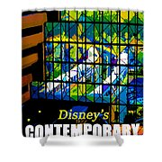 Contemporary Window To The World Shower Curtain