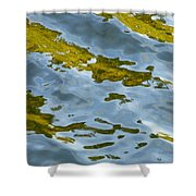 Continental Drift Shower Curtain