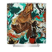 Continental Fusion Shower Curtain