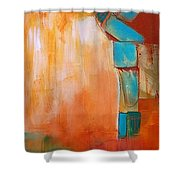 Continuity2 Shower Curtain