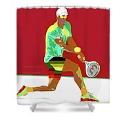 Control The Baseline 1 Shower Curtain