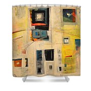 Controlled Spontaneity Shower Curtain