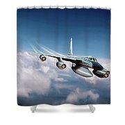 Convair B-58 Hustler Shower Curtain