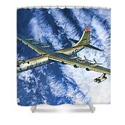 Convair B36 - Oil Shower Curtain