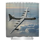 Convair Rb-36f Peacemaker Shower Curtain