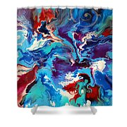 Convergence Of The Four Winds Shower Curtain