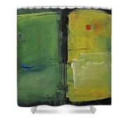 Conversation With Rothko Shower Curtain