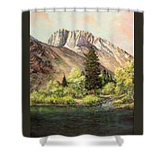 Convict Lake In May Shower Curtain