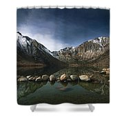 Convict Lake Shower Curtain