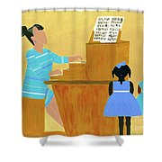 Convocation Shower Curtain