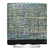 Convoluted Shower Curtain