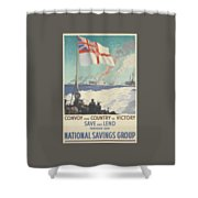 Convoy Your Country To Victory Shower Curtain