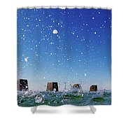 Coogee Pool Shower Curtain