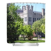 Cook Hall Illinois State Univerisity Shower Curtain